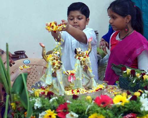 Janmashtami Celebration at ISKCON hinjewadi 2